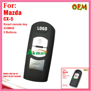 Auto Remote Key for Mazda 3 Buttons 433MHz Model Ske13e-01 Cmiit ID 2011DJ5486 pictures & photos