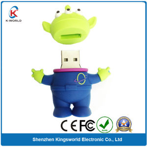 PVC 4GB Cartoon USB Memory Drive
