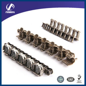 Stainless Steel Roller Gripper Chain for Machine (film clamp chain) pictures & photos