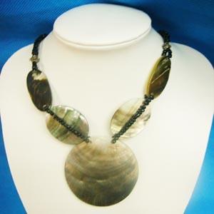 Fashion Jewelry-Shell Pendant (NK-146)