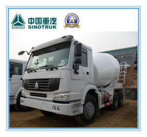 10 M3 Sinotruk/Cnhtc HOWO 8 X 4 Heavy Duty Cement / Concrete Mixer Tank Truck 336HP pictures & photos
