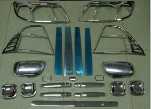 Chromed Accessories for Toyota Corolla 2001-2005