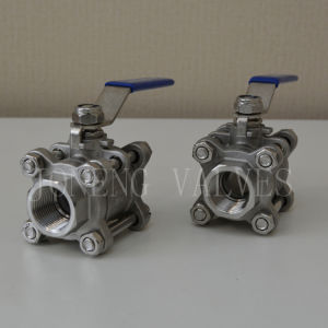 Stainless Steel Three Piece Ball Valve pictures & photos