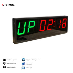 Crossfit Interval Timer 6 Digit-Double Side Programmable Timer Boxing Timer Workout Timer Gym Timer Exercise Timer pictures & photos