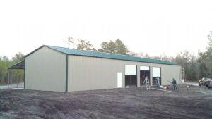 Light Prefabricated Warehouse Steel Construction