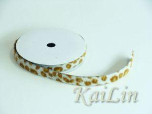 Leopard Grosgrain Ribbon (KLR-021)