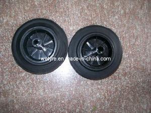 High Quality Solid Rubber Wheel for Trash Bin Wheel (8′x1.75)
