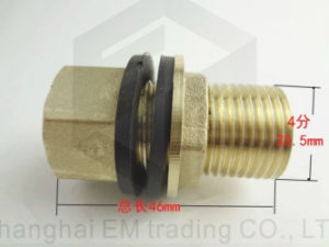 Lengthen Brass Pipe Connect Fitting pictures & photos