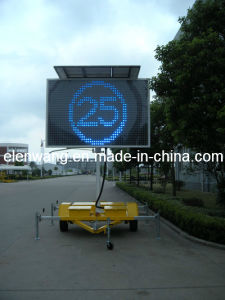 Vms Sign Trailer with LED Sign (GW-VM400) pictures & photos