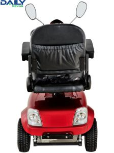 Middle Size Handicap Electric Mobility Scooter Suit for Indoors and Outdoors pictures & photos