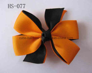 Halloween Hair Bows, Baby Bows, Bow Headbands, Holiday Gift (HS-077)