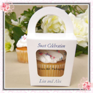 Party Paper Cupcake Box With Handle (JCO-277)