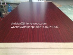 2017 Hot Sale Poplar Core 4*8size Melamine MDF for Wardrobe pictures & photos