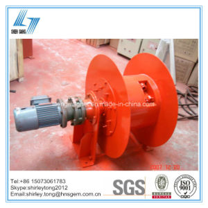 Magnetic Coupling Type Motor Cable Drum for Rubber Cable pictures & photos