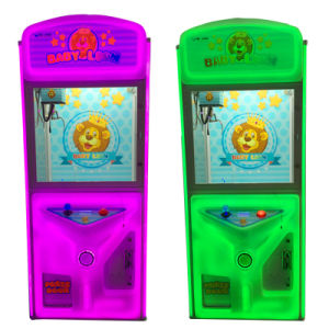 Durable Toy Crane Machine Coin Operated Games pictures & photos