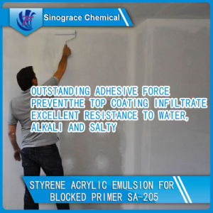 Outstanding Adhesion Styrene Acrylic Emulsion for Wall Primer Coatings pictures & photos