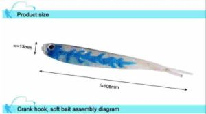 Wholesale High Quality Cheap 105mm 4G Lure Soft Lure pictures & photos