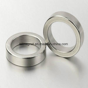 Sintered Rare Earth Permanent Ring NdFeB Magnets pictures & photos