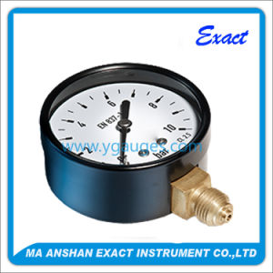 Low Price Black Steel Pressure Gauge for Gas and Industry pictures & photos
