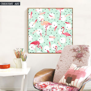 Flamingo Wall Art Oil Painting pictures & photos