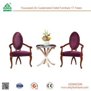 Customized Modern Hotel Restaurant Living Room Furniture Wooden Leisure Chair pictures & photos