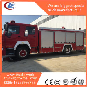 HOWO 6X4 LHD/Rhd 20000liter Water-Foam Tank Fire Fighting Truck pictures & photos