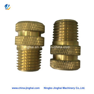 Copper CNC Turning Gear Parts with Inner Threaded in Tools/Machinery pictures & photos