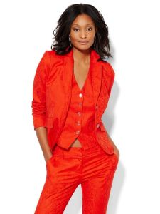 Fashion 3 Piece Red Suit for Women pictures & photos