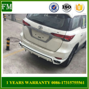 Rear Bumper Guard for Toyota Fortuner 2016 2017 pictures & photos