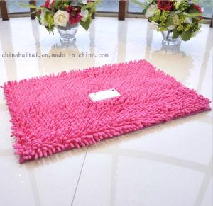Anti-Slip High Pile PVC Glue Dots Chenille Floor Mat