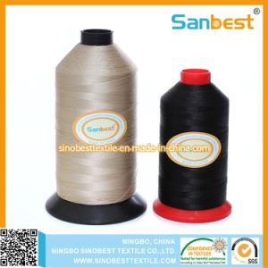 100%Bonded Nylon Filaments Sewing Thread 210d/3 pictures & photos