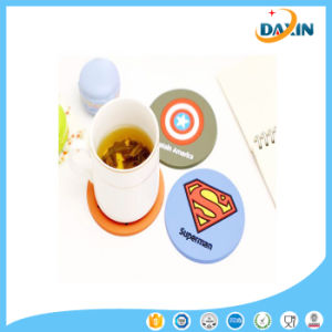 Superman Pattern Eco Friendly Silicone Cup Pad pictures & photos