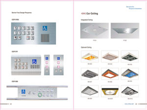 Energy Saving Observation Lift with Glass Low Noise pictures & photos