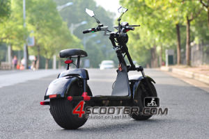 Citycoco 1000W/1500W with Front and Rear Shock Suspension Electric Scooter pictures & photos