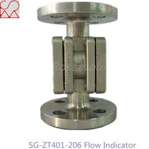1 Inch Flange 304 Stainless Steel Oil Sight Flow Indicators pictures & photos