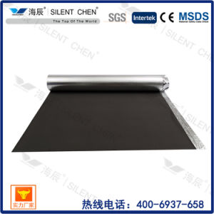 Black EVA Foam with Golden Aluminum Film Waterproof Underlayment for Flooring pictures & photos