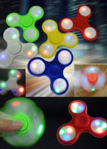 LED Flash Light Fingertip Gyro Fidget Hand Spinner pictures & photos