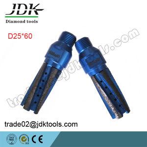 D25*60mm Diamond CNC Finger Bits Drilling Tools pictures & photos