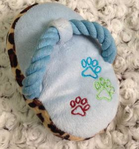 Cute Slipper Design Sounding Pet Toy, Dog Toy pictures & photos