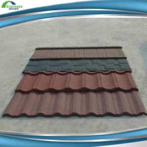 Stone Coated Metal Roof Tile (bond) pictures & photos