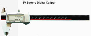 Inch Metric 3V Battery Digital Caliper 150/200/300mm pictures & photos