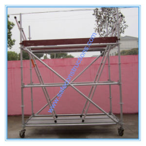 Safe SGS Approved Ringlock Scaffolding System for Construction pictures & photos