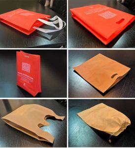Ruian Xinye Non Woven Multifuctional Flat Bag Making Machine pictures & photos