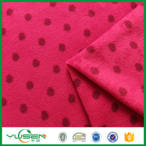 Super Soft Fir Retardant Micro Fiber Polar Fleece Fabric for Boys′ Jacket pictures & photos