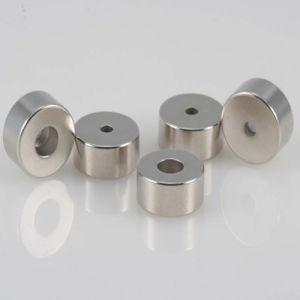 Custom Permanent Ring NdFeB/Neodymium Magnet with RoHS (UNI-RING-006)