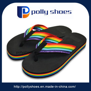 Manufacture High Quality Beautiful Men Beach Walk Slipper pictures & photos