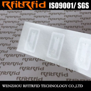 13.56MHz Programmable Anti-Counterfeit Protection RFID Paper Ticket pictures & photos