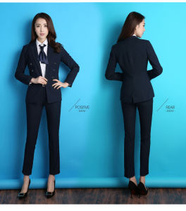 Custom Made High Quality Office Lady Classic Suit pictures & photos
