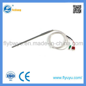 Wire Thermocouple with Stainless Steel Probe Temperature Sensor PT100 pictures & photos