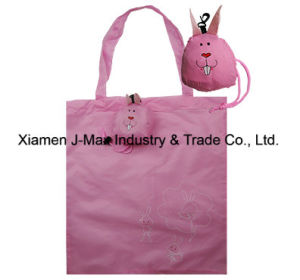 Foldable Shopping Promotional Bag, Animal Rabbit Style, Reusable, Lightweight, Gifts, Accessories & Decoration, Grocery Bags pictures & photos